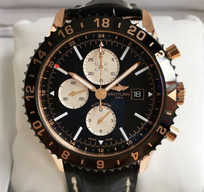 The bold and distinctive design of this Breitling has been favored by not only professional pilots but ordinary watch lovers.