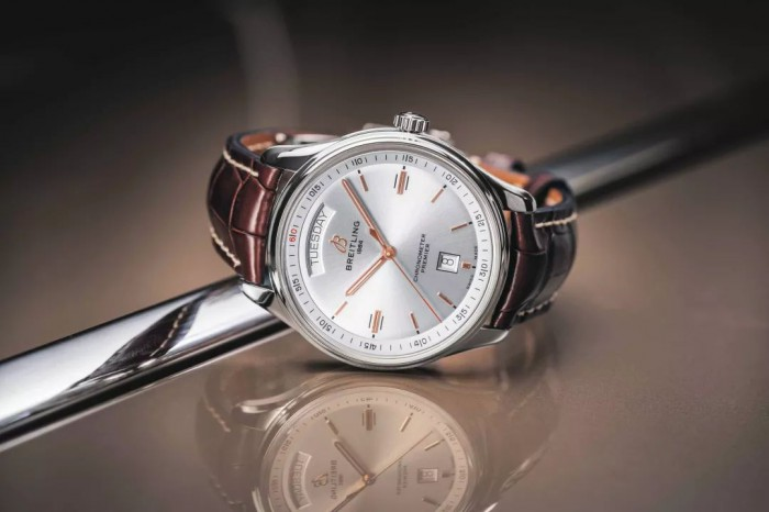 Premier is a new collection of Breitling which is positioned to be city elegance.