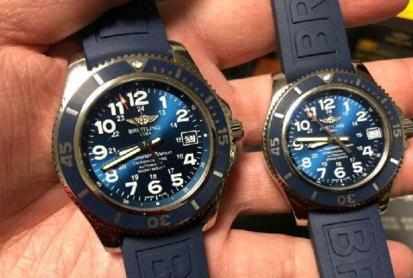 The bright blue dials are very eye-catching and charming.